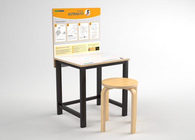 테이블&의자 사인물시공